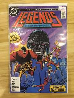 DC Legends #1