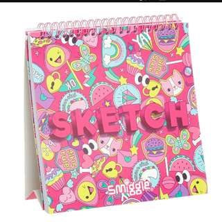 smiggle sketch book