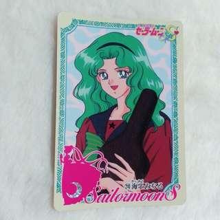 日版:美少女戰士 白咭 No. 210 Bandai 1994