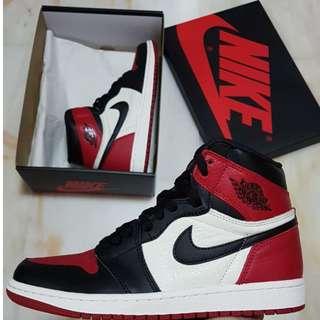 Nike Jordan 1 Retro High Bred Toe