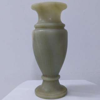 Antique Green Stone Vase