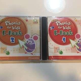 New Phonics for Kids E-book (1&2)