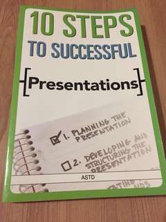 10 Steps to Successful Presentation