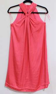 MANGO Cross Salem Dress