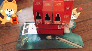 Liptint Package for 3 with matte lipstick