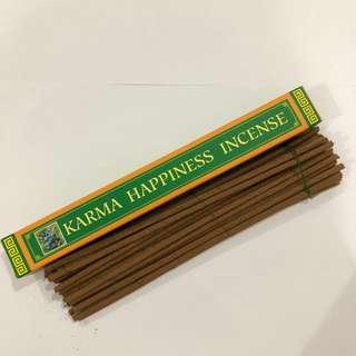 Karma Happiness Incense (Natural Herbal Incense)