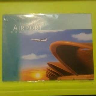 香港郵政郵品 香港國際機場 郵資已付第7號圖片咭 1套6張