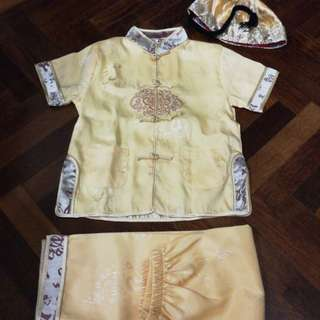 Boys Chinese Traditional Samfu set