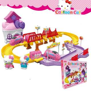 Hello Kitty Assembly Track Series Deformed Track 35pcs
