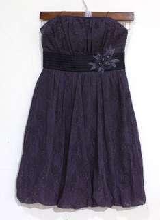 SOLE MIO Purple Tube Dress