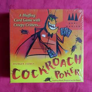 Cockroach Poker - Card Game