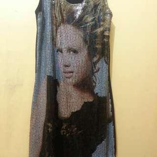 sequence dress..