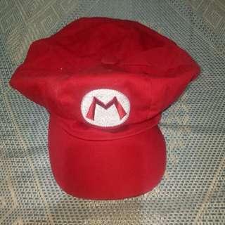 Mario cosplay cap