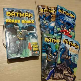 Batman DC 4 Board Books Pack