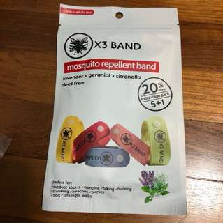 X3 Band Mosquito Repellent
