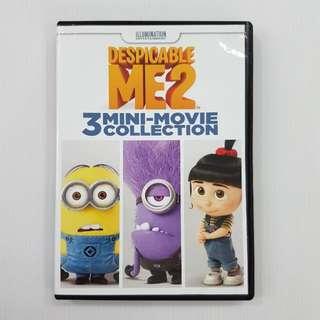 Despicable Me 2: 3 Mini-Movie Collection, DVD