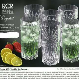 RCR Oasis Highball Tumbler 36cl