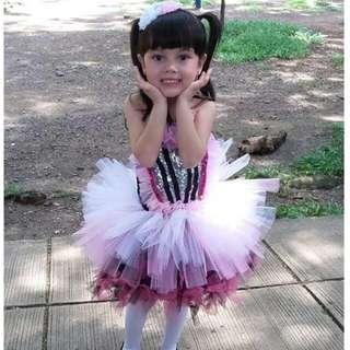 Girls tutu gown