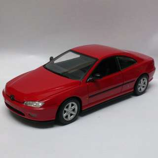 Peugeot 406 Coupe 淨車1:18