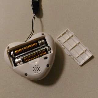 心型發聲報時器