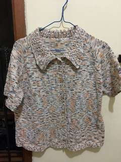 Sweater Kaos Bahan Rajut