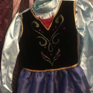 FROZEN Anna Costume for Kids 7-10