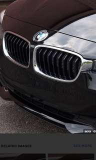 BMW F30 chrome grille