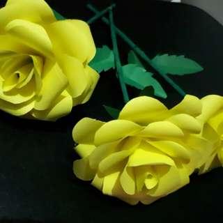 Paper craft flower bouquet of 12s