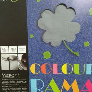 Studio One Colour Rama Super Single Fitted Sheet Set