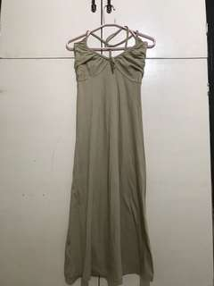 Bayo Light Brown Casual Dress
