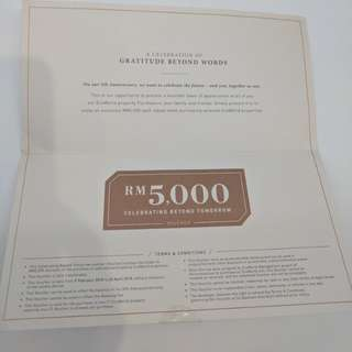 Eco World RM5000 voucher to offset downpayment