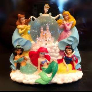 Disney 迪士尼 公主 美人魚 水晶球 音樂 發光