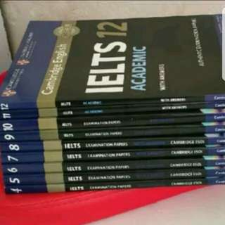 IELTS 雅思 4 5 6 7 8 9 10 11 12 Pastpaper 100%全新 最新版