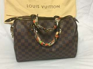 Repriced Louis Vuitton Ebene Speedy 30 Sale Price from 30k to 25k
