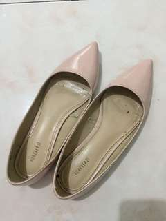 Forever 21 blush pink flats 5.5