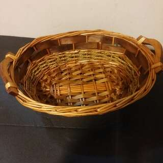 Very nice handmade basket