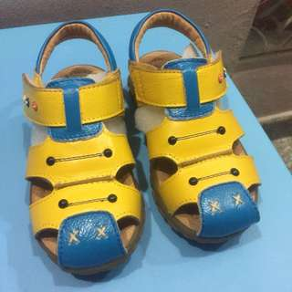 Real leather boy's sandals