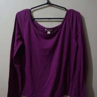 Purple Long Sleeves