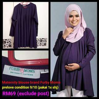 Maternity Blouse Brand Furby Moms