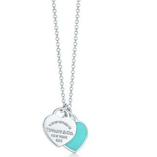Tiffany Double Heart Pendant