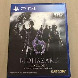 🚚 PS4 惡靈古堡6