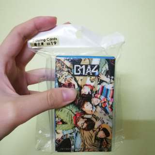 B1A4 POKER CARDS