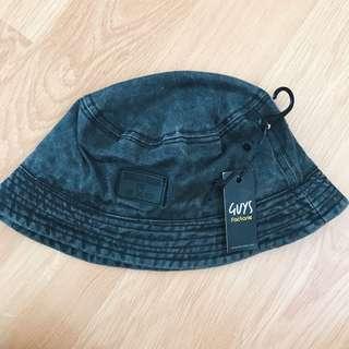 Factorie Grey Bucket Hat