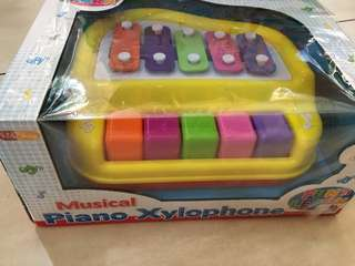 musical piano xylophone
