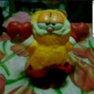 Soft Toy Garfield With Boxing Gear