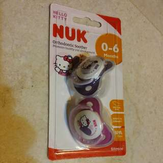 Nuk Hello Kitty Pair Of Pacifiers