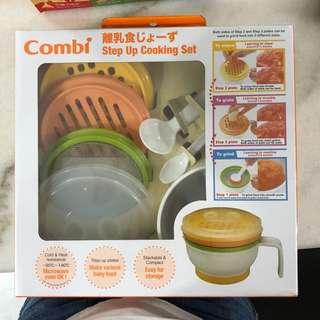 Combi set up cooking set