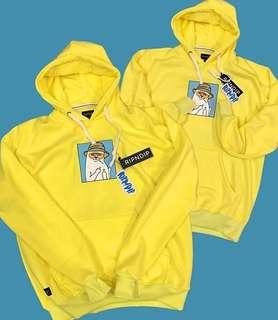 Hoodie Huf Yellow
