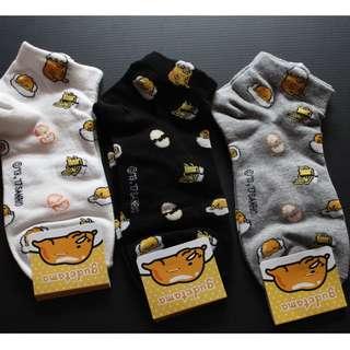 Gudetama pattern socks - Instocks