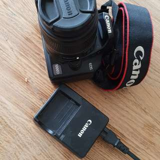 Canon 1000D with 15-55mm lens